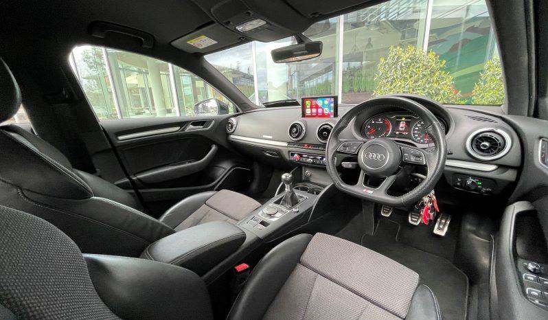 2017 Audi A3 1.6 TDI S-LINE SALOON full