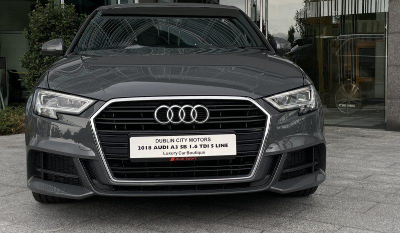 2018 Audi A3 SB 1.6 TDI S-LINE full