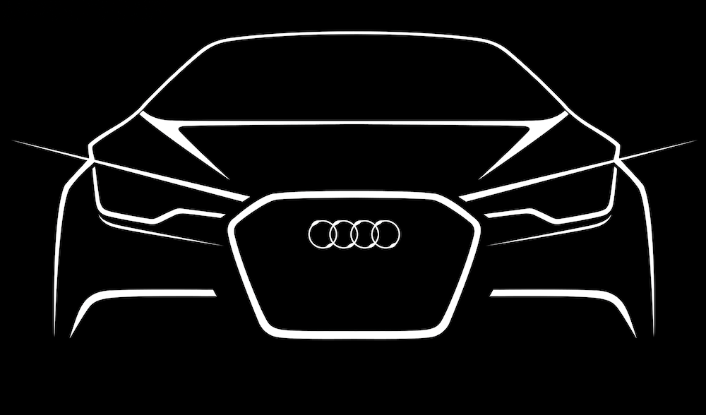 Audi A6 Sketch In Black Dublin City Motors